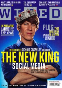 Dennis Crowley su Wired UK