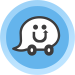 Road Warrior Waze badge di foursquare