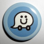 Spilletta badge di Waze