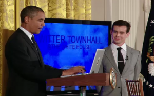Obama - Twitter Town Hall